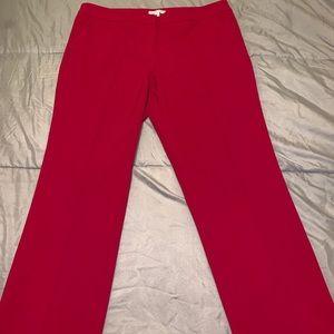 Beautiful ladies pants. Hot pink.. size 12